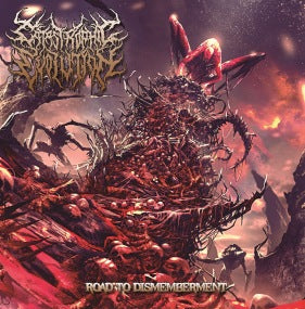 Catastrophic Evolution- Road To Dismemberment CD on Rotten Roll Rex