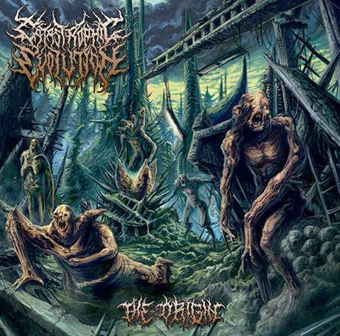 CATASTROPHIC EVOLUTION- The Origin CD on Sevared Rec. OUT NOW!!!