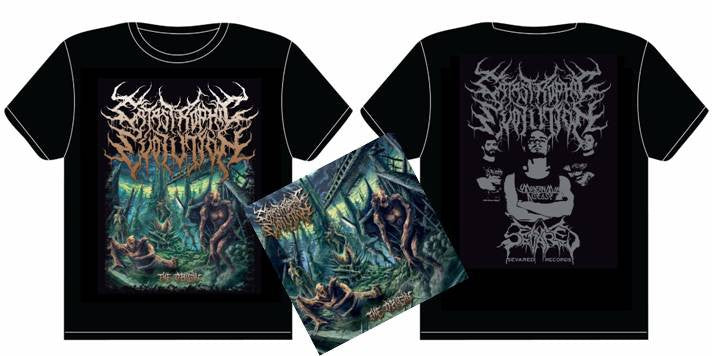 CATASTROPHIC EVOLUTION- The Origin CD / T-SHIRT PACAKGE SMALL-XL