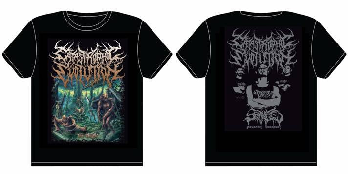 CATASTROPHIC EVOLUTION- The Origin T-SHIRT MEDIUM-XXL