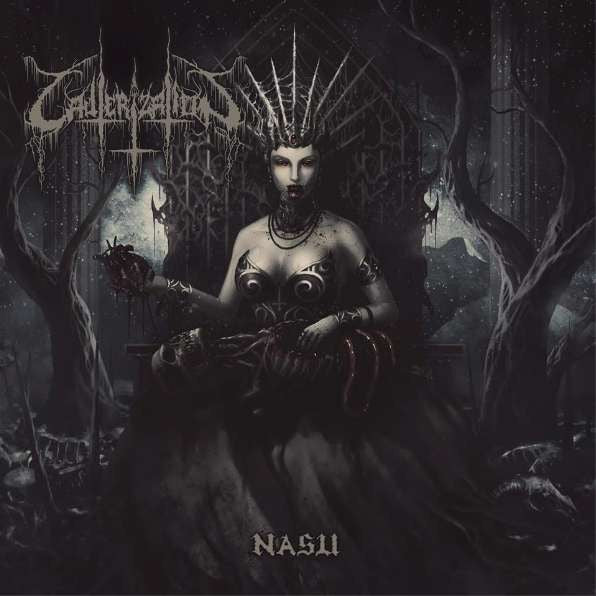 "Cauterization- Nasu 7"" EP VINYL on Misanthropic Rec."