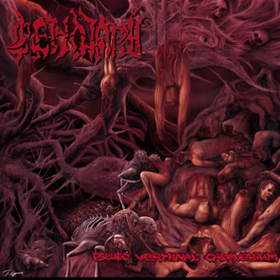 CENOTAPH (TURK)- Pseudo Verminal Cadaverium CD on Sevared Rec.