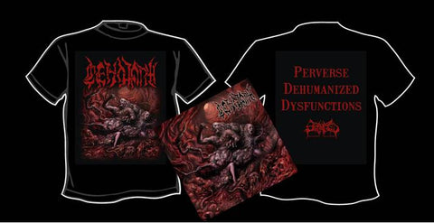 CENOTAPH (TURK)- Perverse Dehumanized Dysfunctions CD / T-SHIRT PACAKGE S-XXL PRE-ORDER!!!