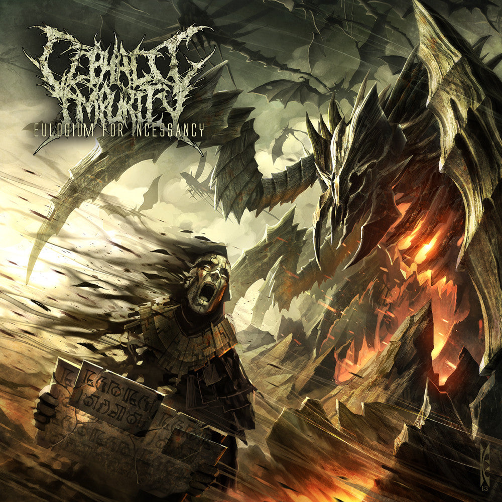 Cephalic Impurity- Eulogium For Incessancy CD on Rising Nemesis