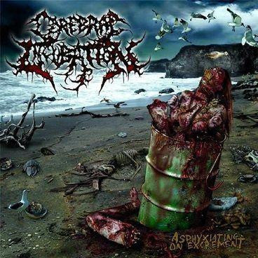 Cerebral Incubation- Asphyxiating On Excrement CD on Soulflesh Collector