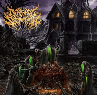 Cerebral Secretion- Infinite realms Of Decay CD on Amputated Vein Rec.