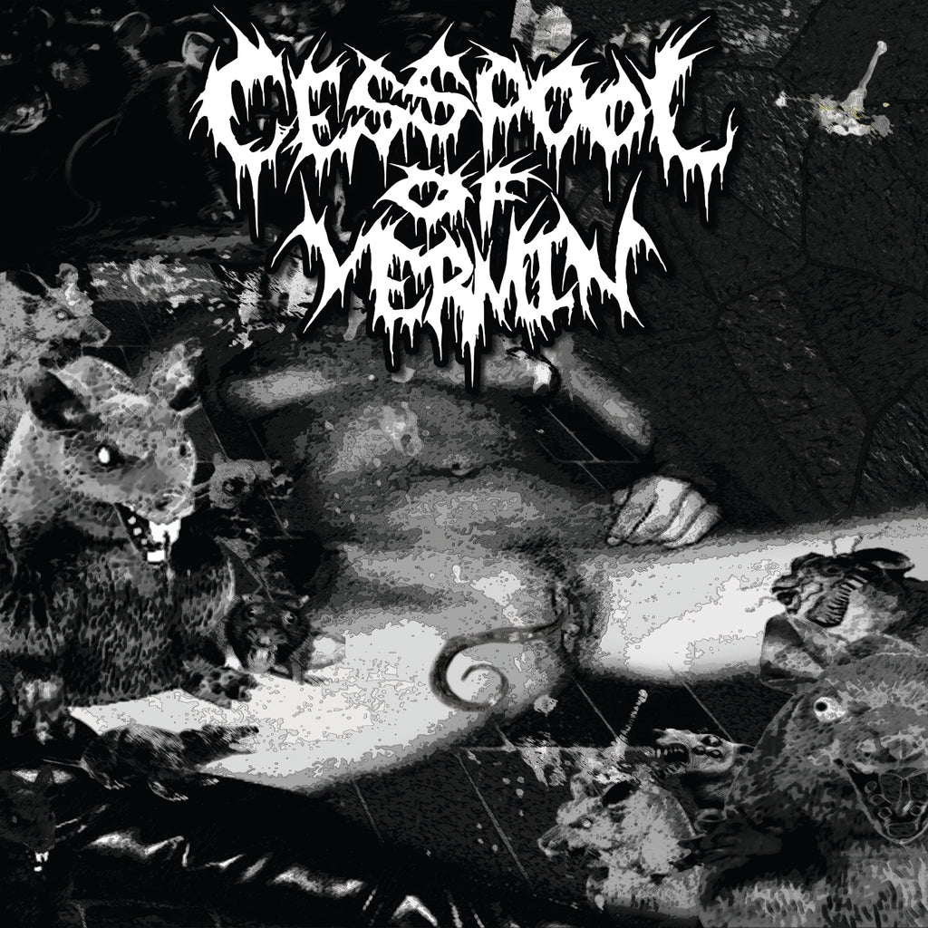 CESSPOOL OF VERMIN- Promo 2018 CD on Sevared Rec.