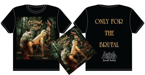 CESSPOOL OF VERMIN- Beastial Necrophilia CD / T-SHIRT PACKAGE S-XXL PRE-ORDER!!!