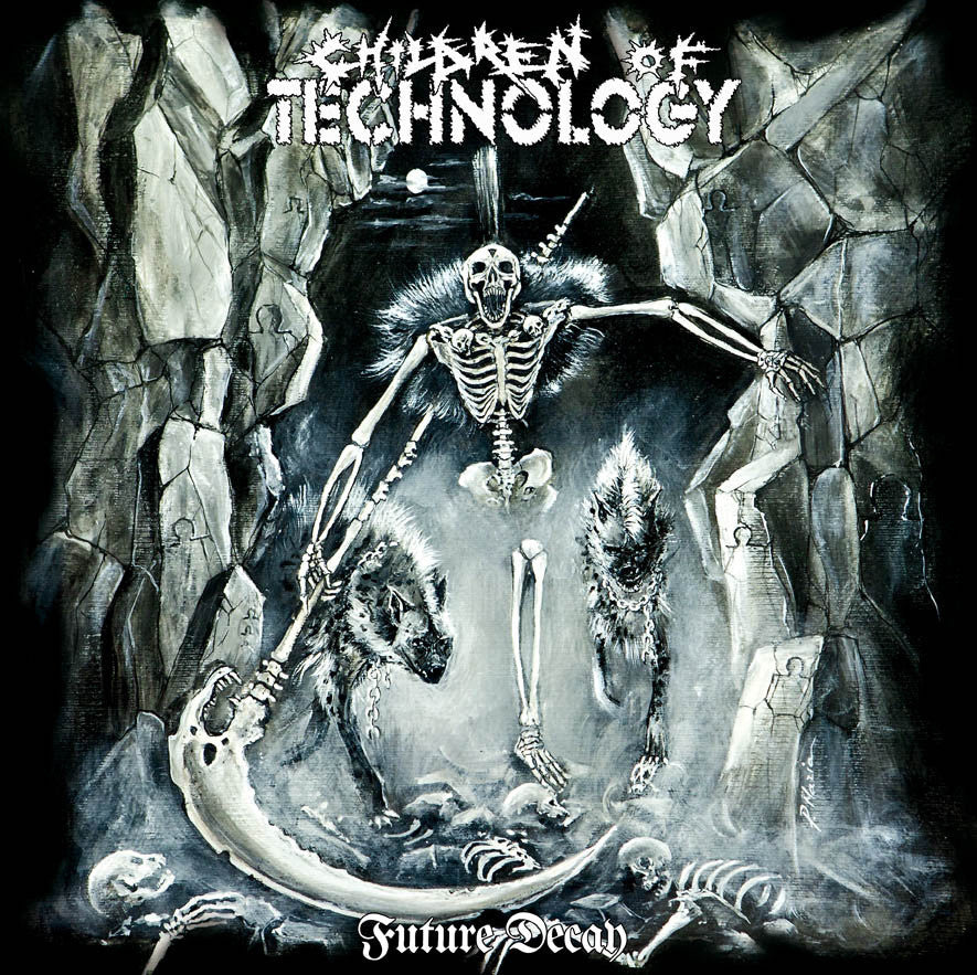 Children Of Technology- Future Decay CD on Hells Headbangers