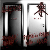 Choked By Own Vomits / S.C.A.T.- Zombie Yegers Split CD on Rotte