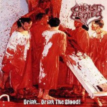 CHRIST DENIED- Drink.. Drink The Blood! CD on Sevared Rec.