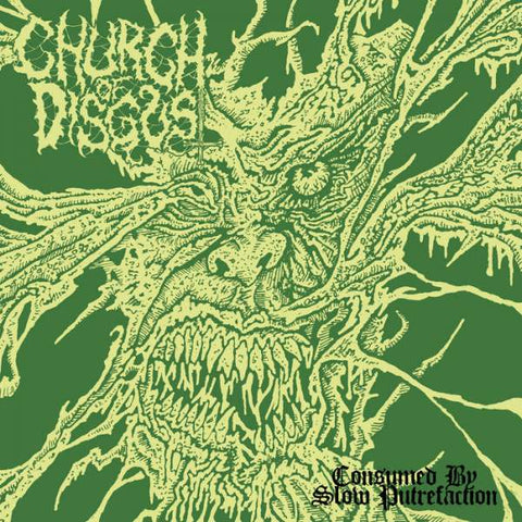 Church Of Disgust- Consumed By Slow Putrefaction CD on Maggot Stomp