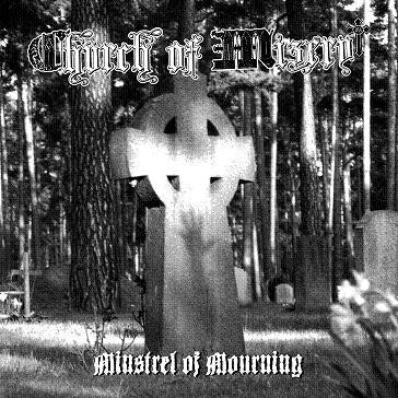 Church Of Misery- Minstrel Of Mourning CD on Razorback Rec.