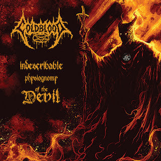 Coldblood- Indescribable Physiognomy Of The Devil CD on Metallic Media