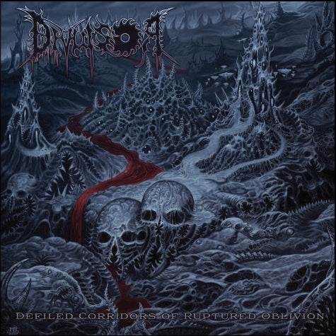 DIVULSOR- Defiled Corridors Of Ruptured Oblivion CD on Sevared Rec.