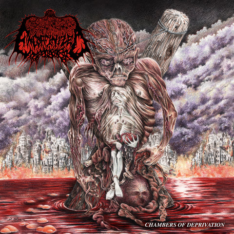 ENCOFFINIZED- Chambers Of Deprivation (Jewel Case) CD on Sevared Rec. / Maggot Stomp OUT NOW!!!