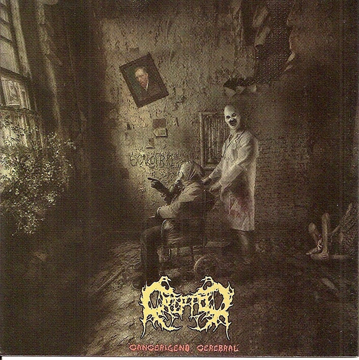 Criptor- Cancerigeno Cerebral CD on Ritos De Muerte Radio Extrema