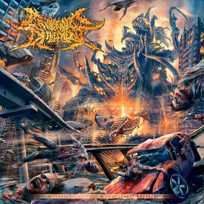 Cryogenic Defilement- Worldwide Extermination CD on Reality Fade Rec.