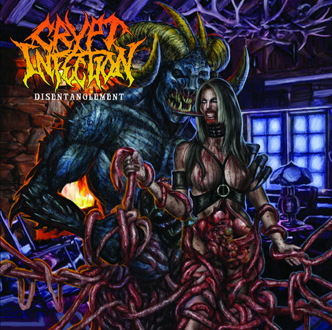 CRYPT INFECTION- Disentanglement CD on Sevared Rec.