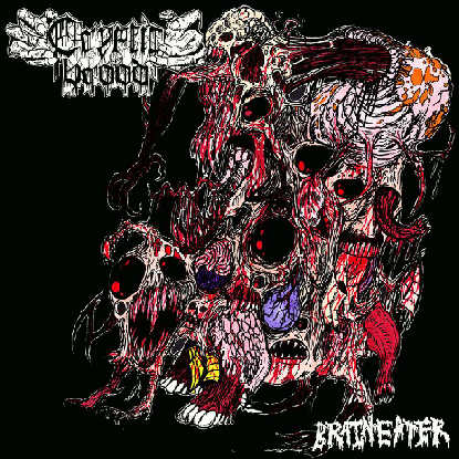 Cryptic Brood- Brain Eater CD on Xtreem Music