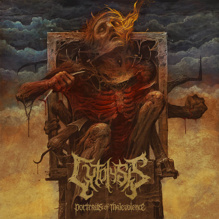 Cytolysis- Portraits Of Malevolence CD on Lord Of The Sick