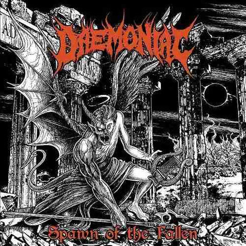 Daemoniac- Spawn Of The Fallen CD on Xtreem Music