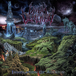 Dawn Of Dementia- Immolation Of Avernis CD on Inherited Suffering Rec.