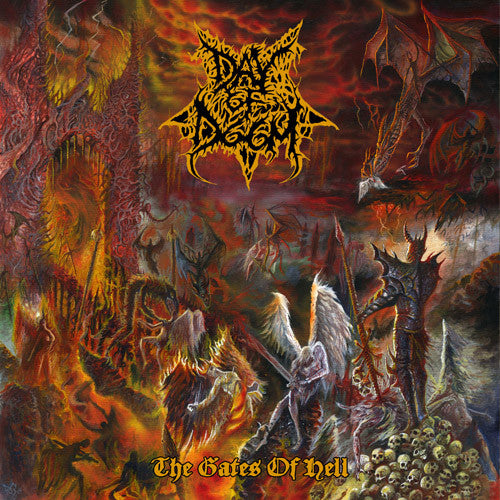 Day Of Doom- The Gates Of Hell CD on Lavadome Prod.