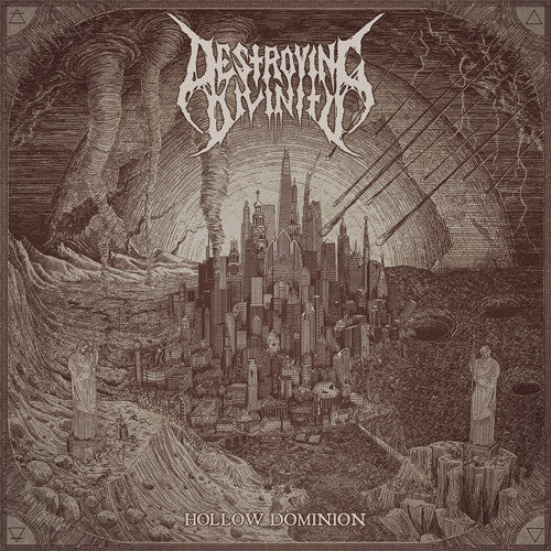 Destroying Divinity- Hollow Dominion CD on Lavadome Prod.