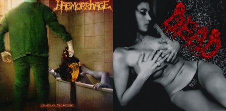 Dead / Haemorrhage- Split CD on Rotten Roll Rex