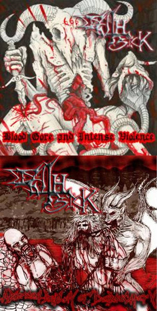 Death Sick- Blood, Abherrent, Gore DOUBLE CD PACKAGE