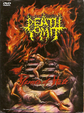 Death Vomit (IND)- Flames Of H*te DIGI-DVD on Rottrevore Records