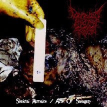 DECREPIT ARTERY- Skeletal Remains / Acts Of Savagery CD