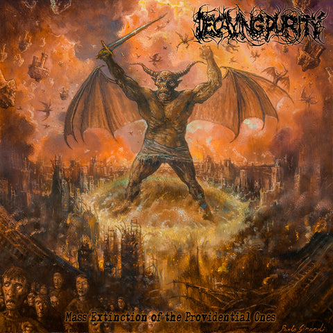 DECAYING PURITY- Mass Extinction Of The Providential Ones CD on Sevared Rec. OUT NOW!!!