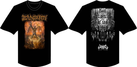 DECAYING PURITY- Mass Extinction... T-SHIRTS S-XXL OUT NOW!!!