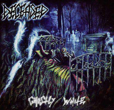 Deceased- Ghostly White CD on Hells Headbangers