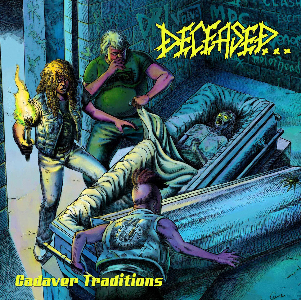 Deceased- Cadaver Traditions DOUBLE CD on Hells Headbangers