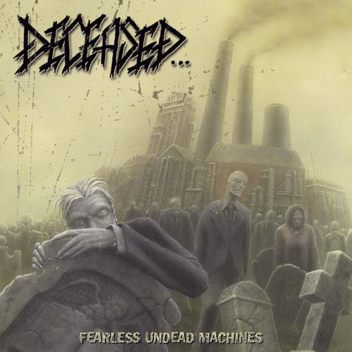 Deceased- Fearless Undead Machines CD on Lost Apparitions Rec.
