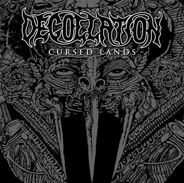 "Decollation- Cursed Lands 12"" GATEFOLD LP VINYL on The Crypt Rec."