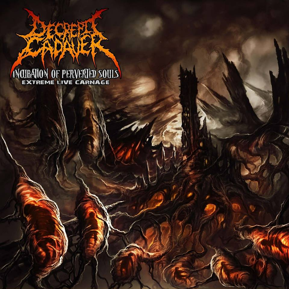 Decrepit Cadaver- Incubation Of Perverted Souls - Extreme Live Carnage CD on Rotten Cemetery Rec.