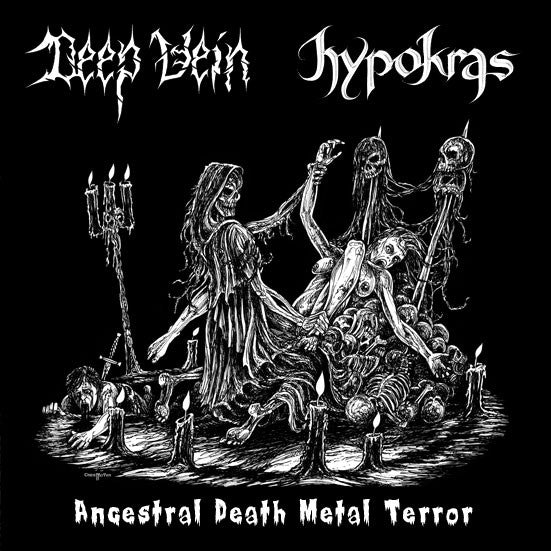 Deep Vein / Hypokras- Ancestral Death Metal Terror Split CD