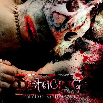 Defacing- Homicidal Satisfaction CD on Charred Remains Records