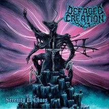 DEFACED CREATION- Serenity In Chaos CD on Punishment 18 Rec.