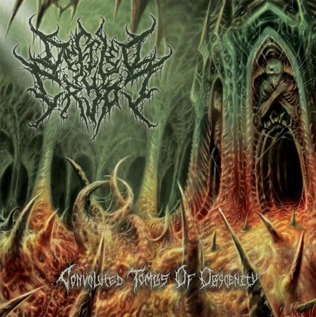 Defiled Crypt- Convoluted Tombs Of Obscenity CD on Unmatched Brutality