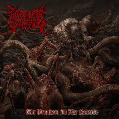 Defleshed And Gutted- The Prophecy In The Entrails CD on Lord Of The Sick Rec.