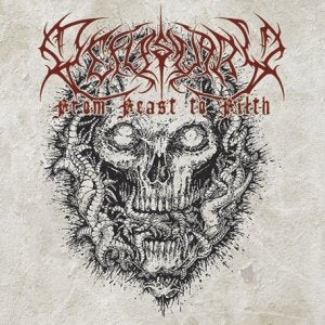 Defleshuary- From Feast To Filth Discography CD on Sevared Rec.