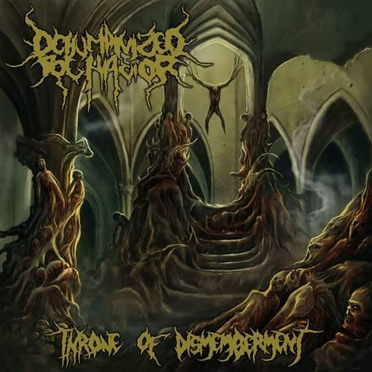 DEHUMANIZED BEHAVIOR- Throne Of Dismemberment CD on Necropsy Rec.