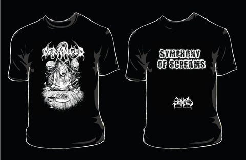 DERANGED- Symphony Of Screams T-SHIRT S-XL OUT NOW!!!