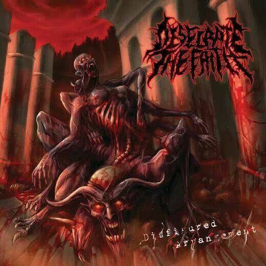 Desecrate The Faith- Disfigured Arrangement DIGI-CD on Ossuary Industries
