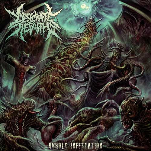 Desecrate The Faith- Unholy Infestation CD on Comatose Music